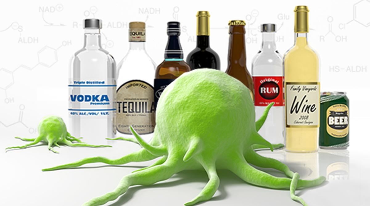 Ung thư gan là một trong những tác hại của rượu