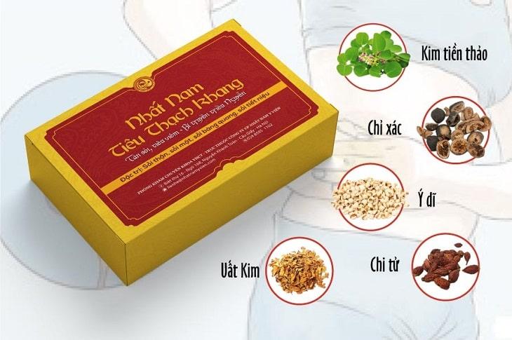 nhất nam tiêu thạch khang đặc trị sỏi mật có tốt không